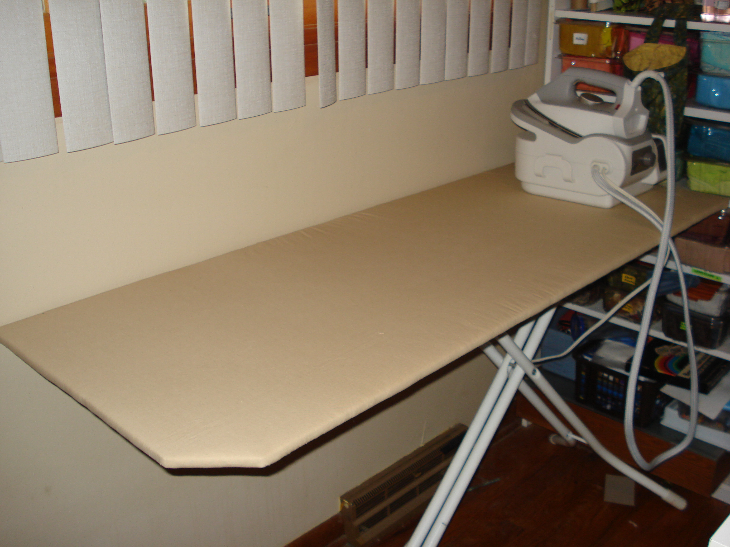 DIY Ironing Board Topper - mulberrypatchquilts