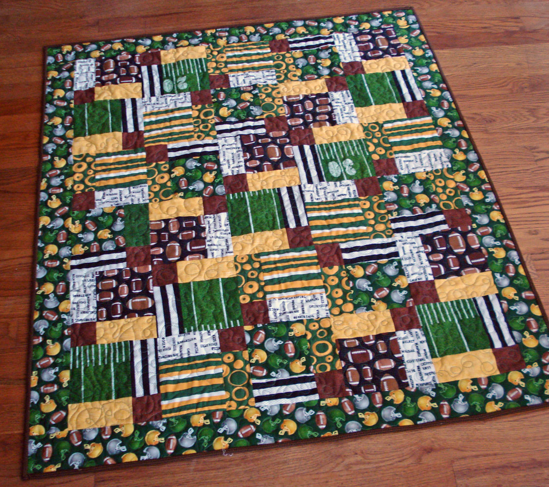 Green Bay Packers – mulberrypatchquilts : green bay packers quilt - Adamdwight.com