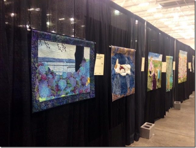 Quilt at Expo with