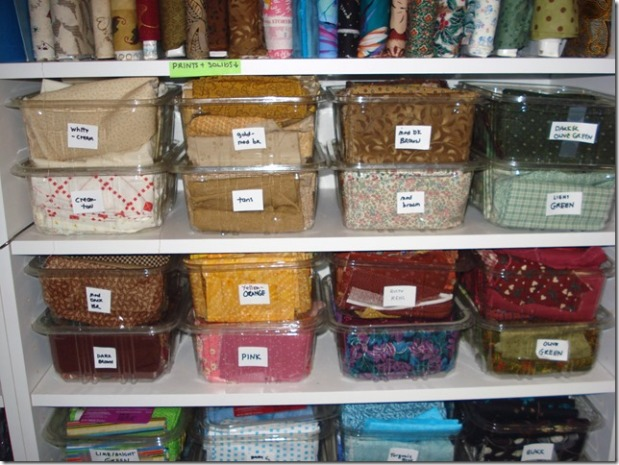 4 Easy (Cheap) Ways to Organize Fabric (part 3)