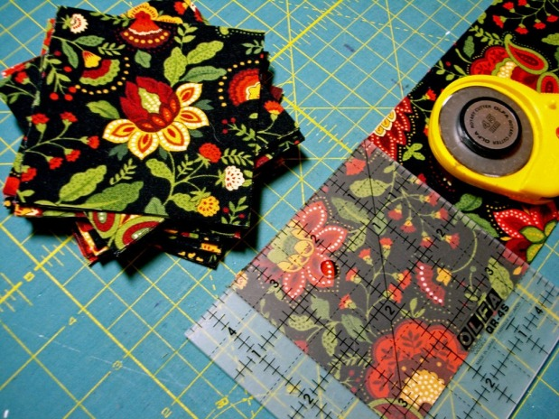 Kaleidoscope 4-Patch Table Runner…the Process