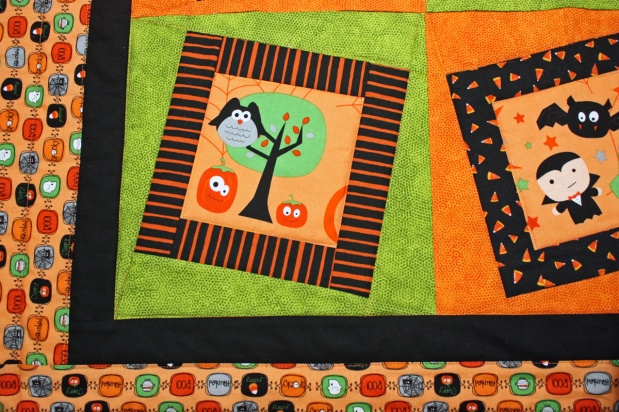 Halloween Quilt #2 Topsy Turvy Finished