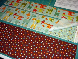You'll have enough strips to make four quilts!