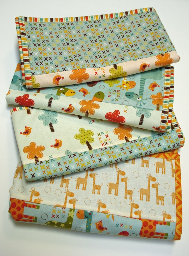 4 Baby Quilts In 4 Hours With 4 Fat Quarters Tutorial