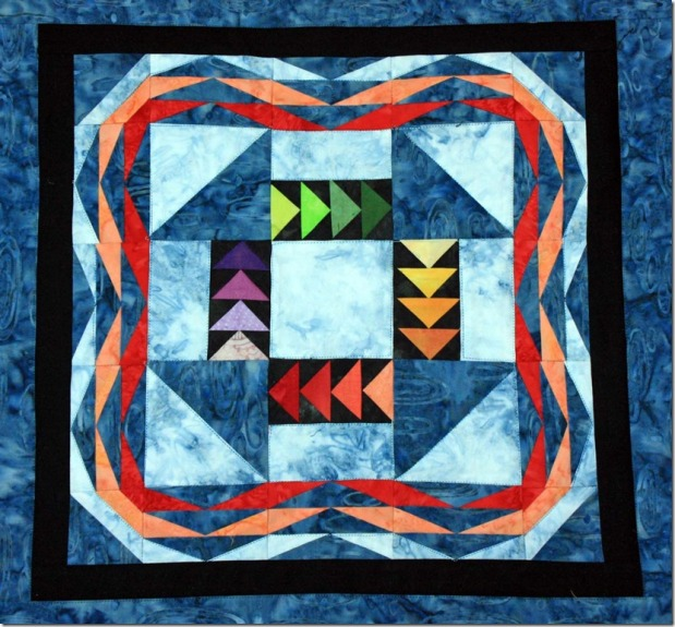 Project Quilting Last Challenge for 2016#PQ7
