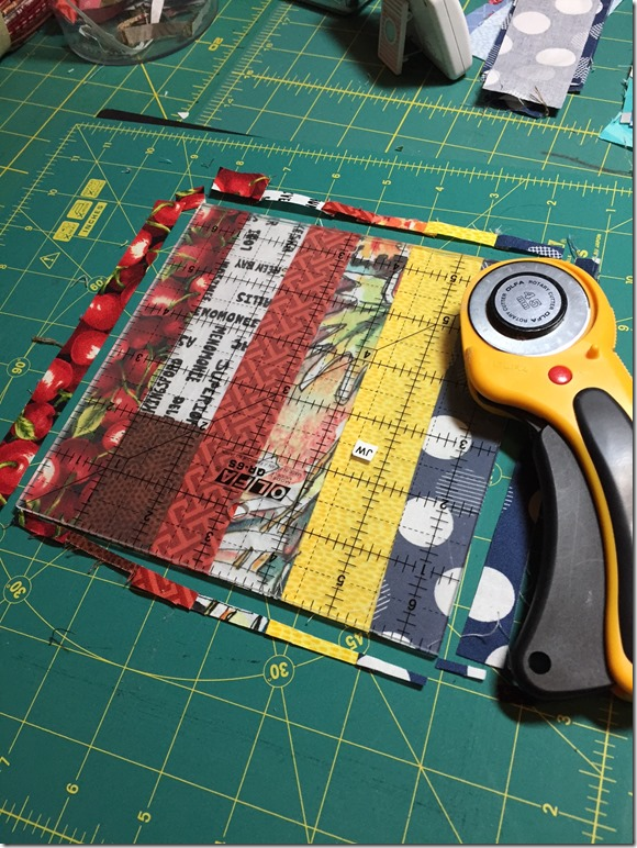 Quilting Up My Scraps