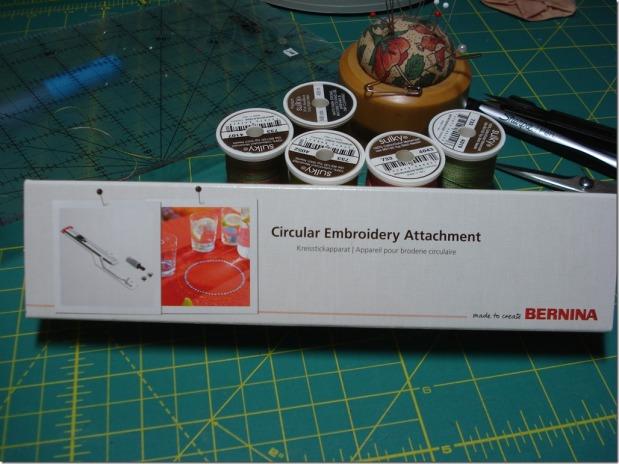 DIY Four Circle Table Topper with Bernina Circular EmbroideryAttachment