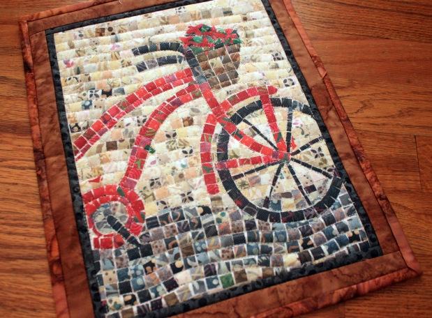 Making a Mosaic WithFabric