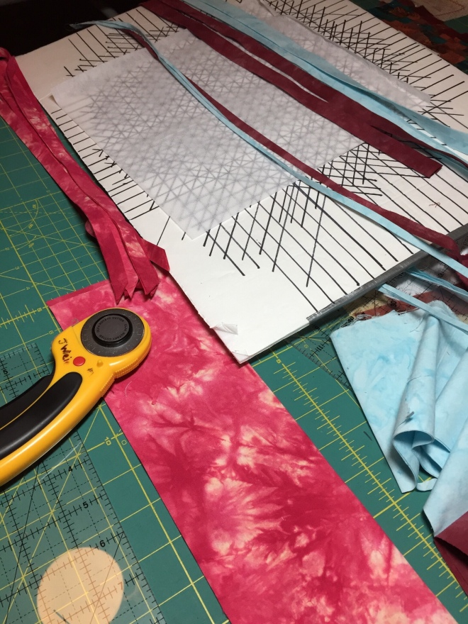 weaving fabric strips – mulberrypatchquilts