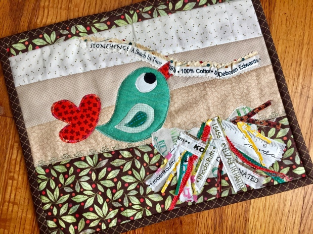 Project Quilting Stitch in Time Entry