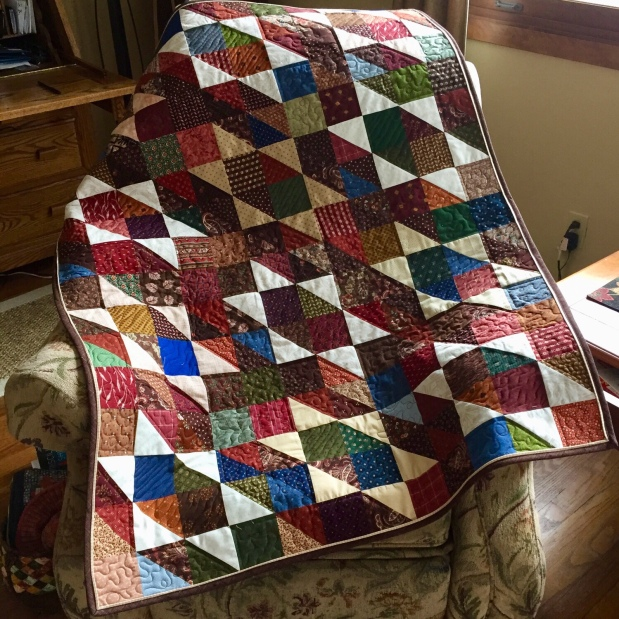 Scrapbuster of a Scrap Quilt