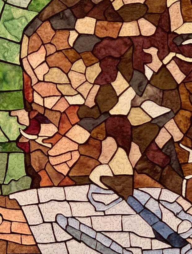 Infatuated with Mosaic Quilts