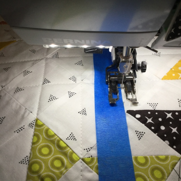Tuesday Tips Quilting: Straight Lines