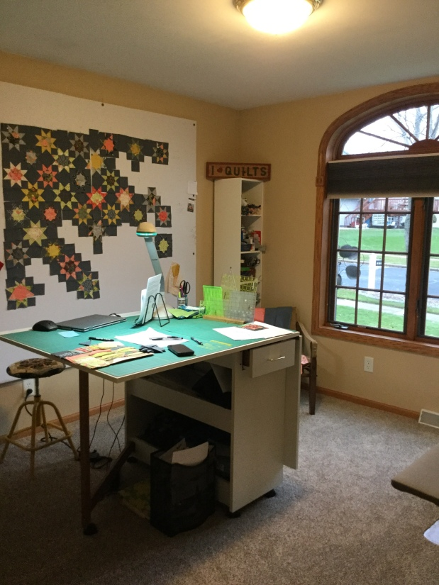 Quilt Studio Makeover: Design Wall