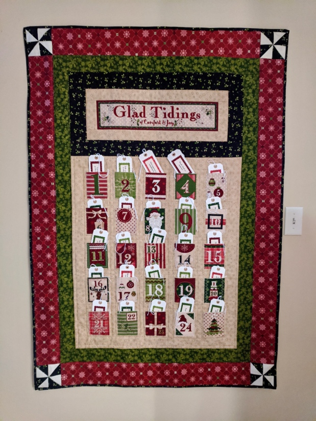 Project Quilting…Advent Calendar
