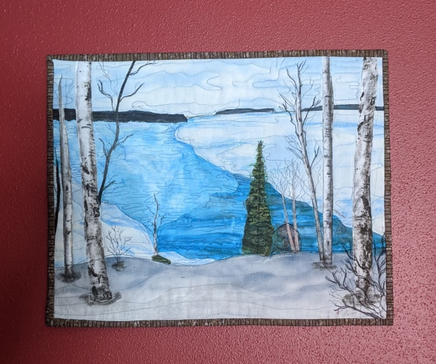 Dreaming of a Vacation Art Quilt: ProjectQuilting
