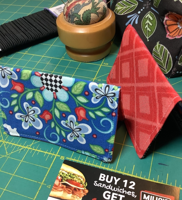 Easy To Make Fabric CardHolder
